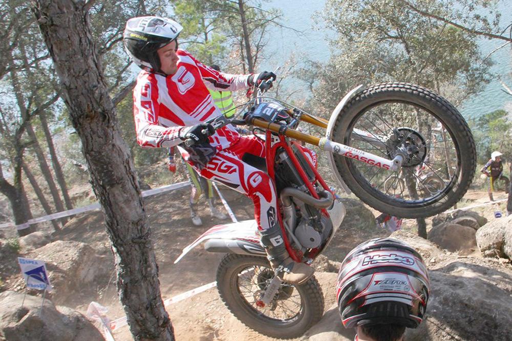 Víctor Palomares gana la prueba de TR2 del Nacional de Trial