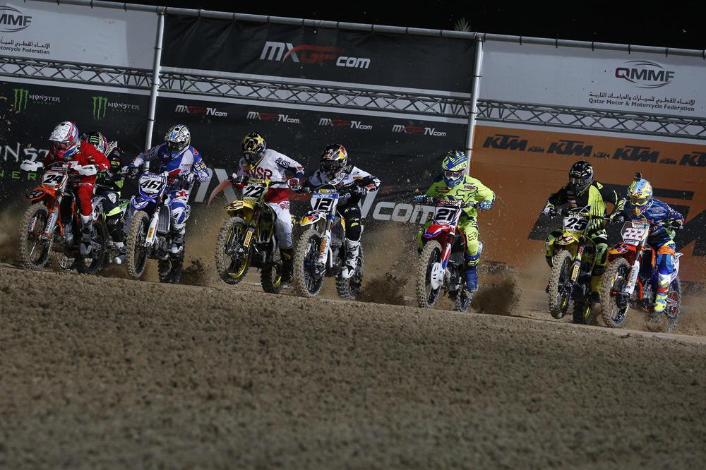 Max Nagl logra la primera victoria del Mundial de Motocross en Qatar