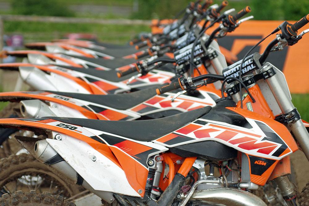 KTM desmiente su interés por adquirir Gas Gas
