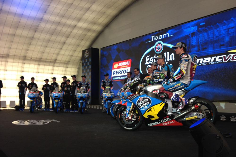 Rabat, Márquez y Redding desvelan los colores de sus nuevas motos