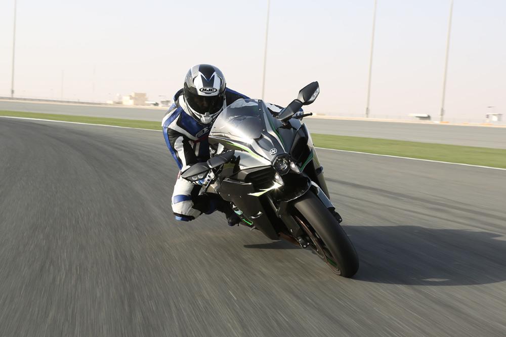 Probamos la Kawasaki Ninja H2R