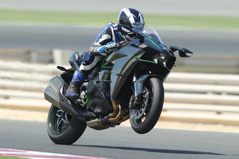 Prueba de la Kawasaki Ninja H2