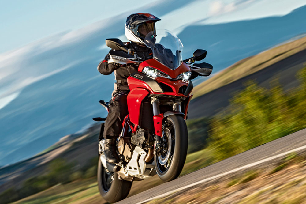 Prueba de la nueva Ducati Multistrada 1200