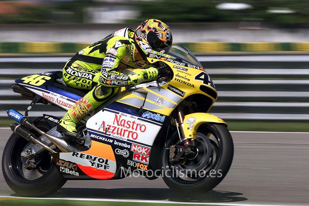 Mundial 2001: Rossi comienza su reinado