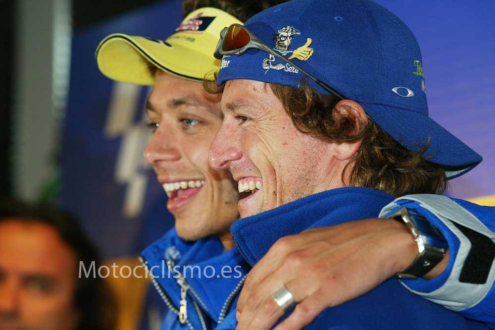 Rossi – Gibernau, el fin de una amistad