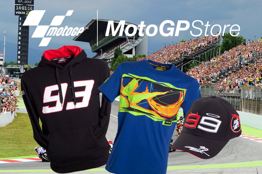 10% menos en la MotoGP Store