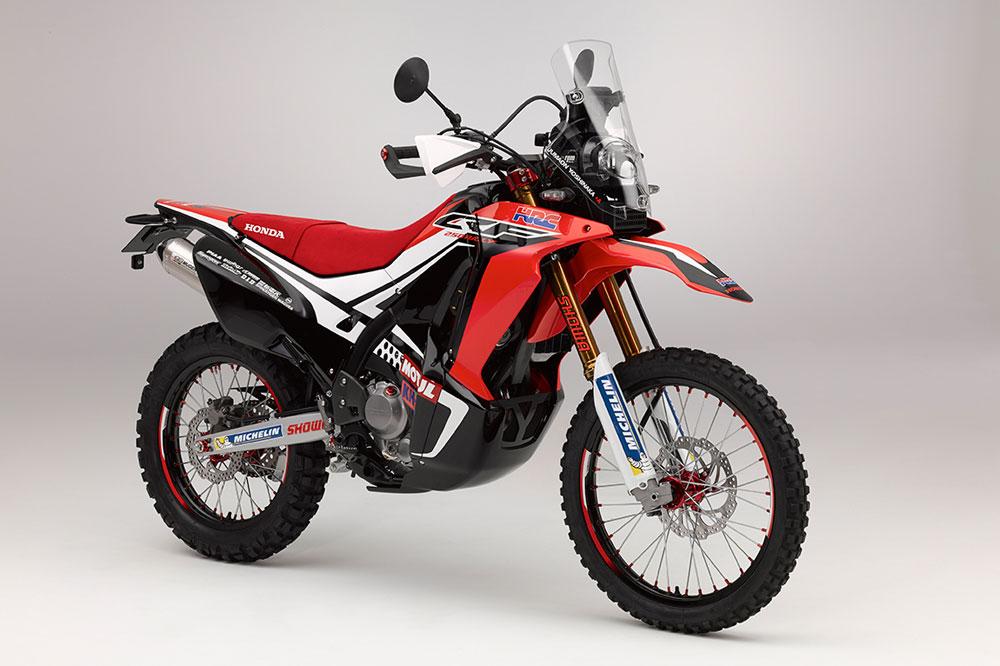 Nueva Honda CRF250 Rally