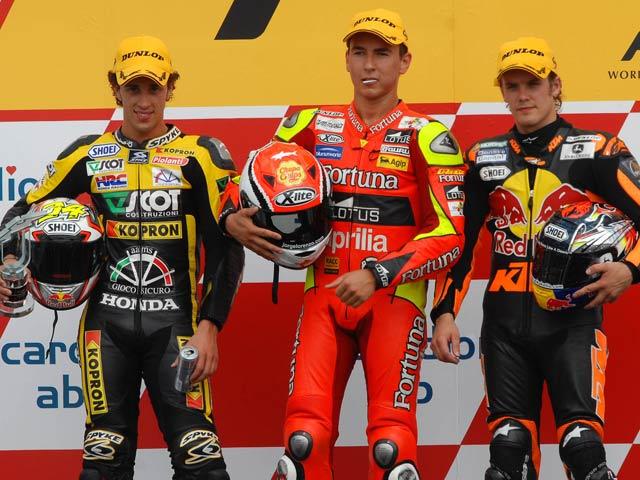 Motociclismo. GP de Rep. Checa (12ª). 250.