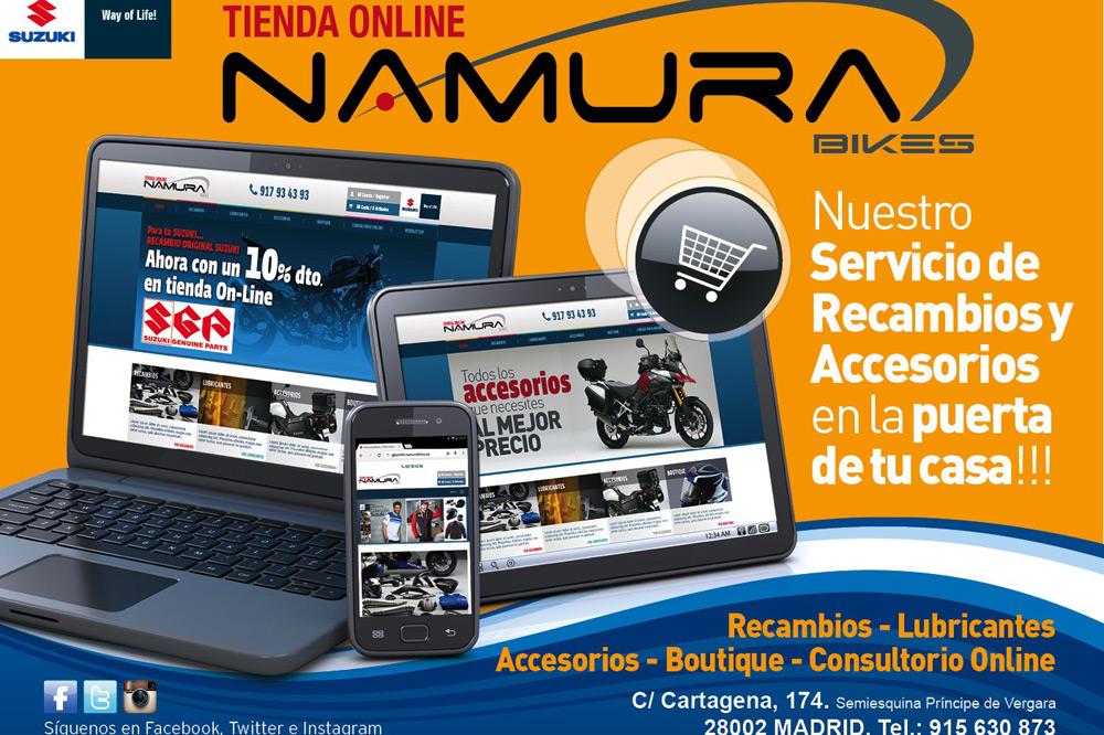 Nueva tienda On-Line Namura Bikes