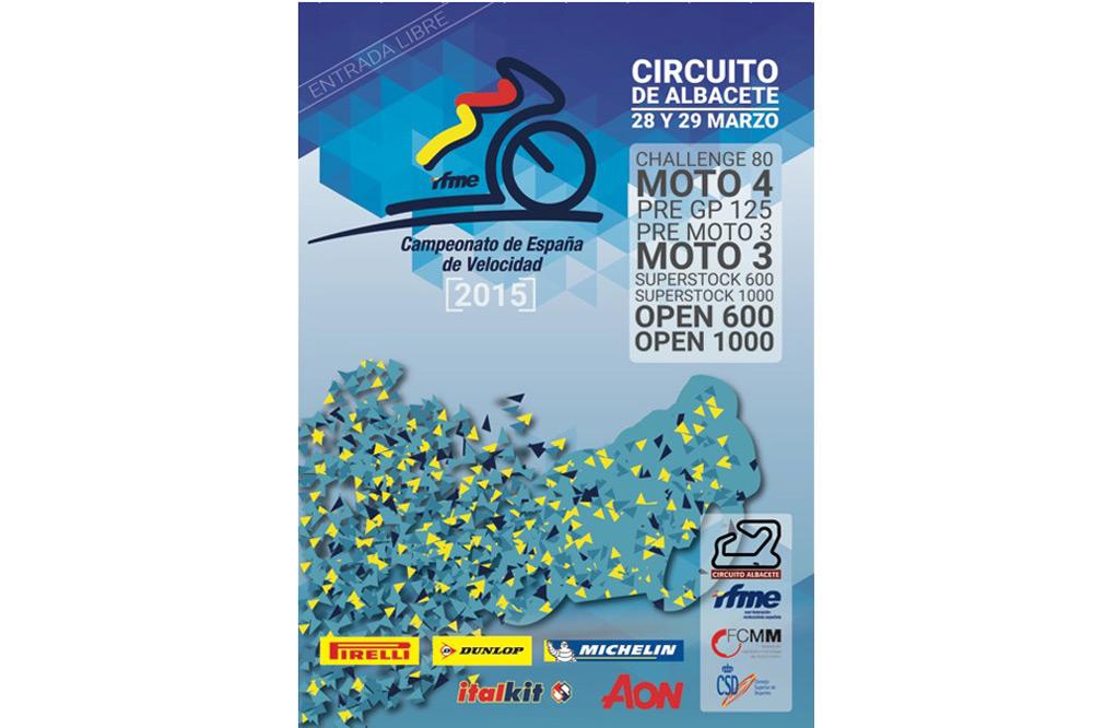 El Circuito de Albacete acoge la primera prueba del Campeonato de España de Velocidad