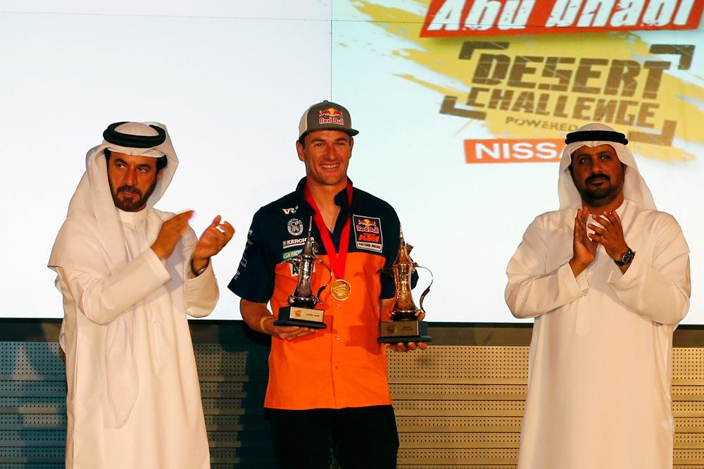 Marc Coma, campeón en el Abu Dhabi Desert Challenge