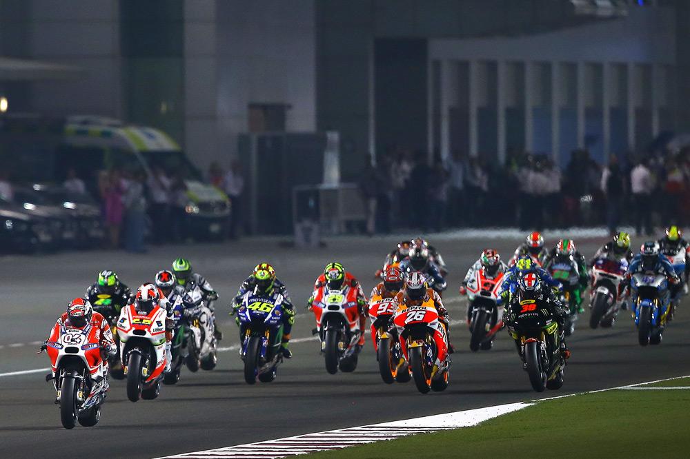 24 motos y seis marcas en MotoGP