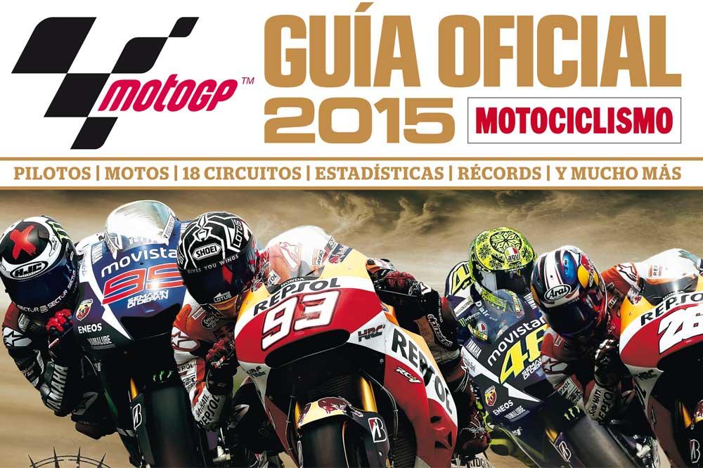 Ya a la venta la Guía Oficial MotoGP 2015