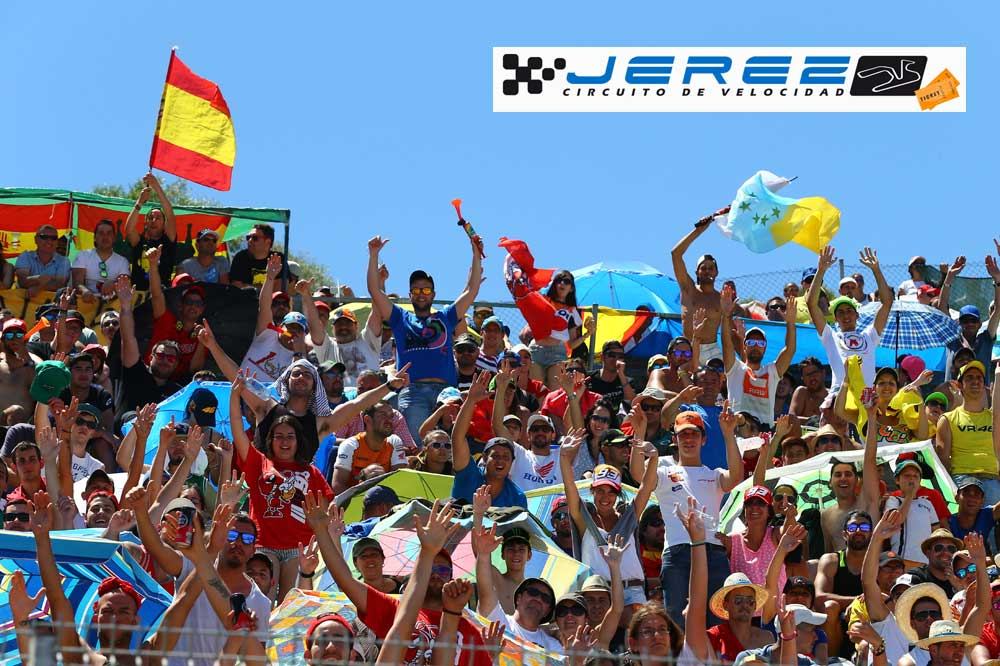 GP Jerez: Pack ahorro Motociclismo en las tribunas R9 y J4
