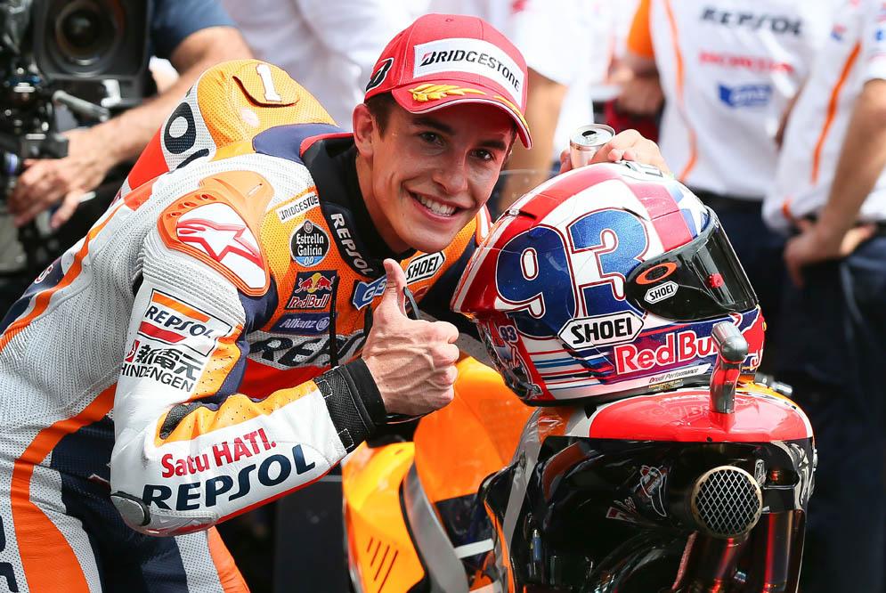 Marc Márquez: He podido dar alguna vuelta detrás de las Ducati y tienen mucho potencial