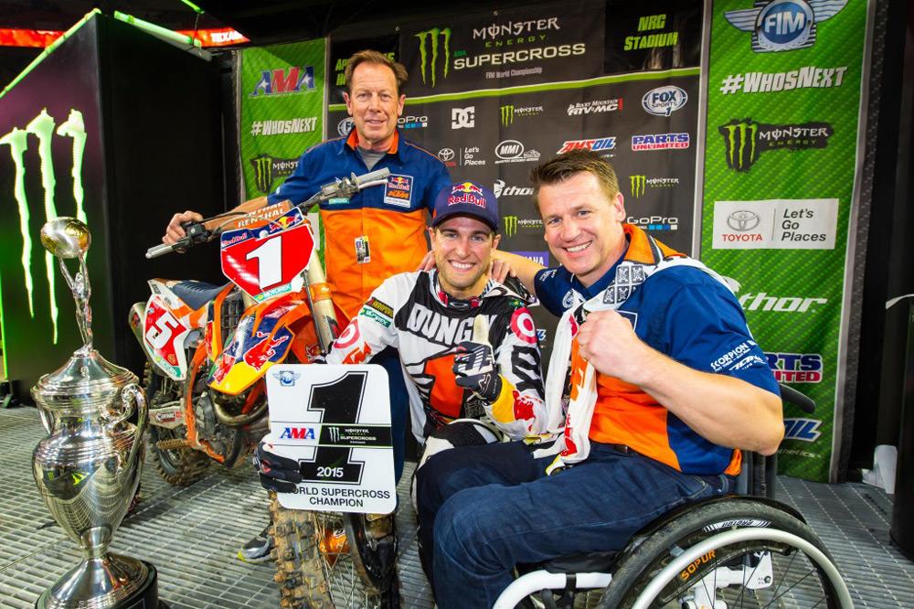 Ryan Dungey, Campeón del AMA de Supercross