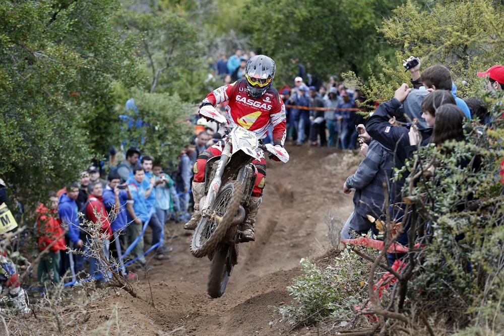 Jonathan Barragán logró su primer podio con Gas Gas en el Campeonato del Mundo de Enduro