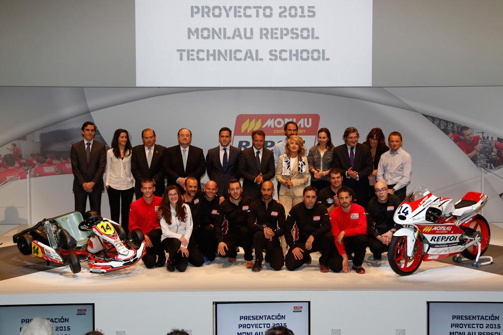 Monlau y Repsol presentan su programa de becas 2015