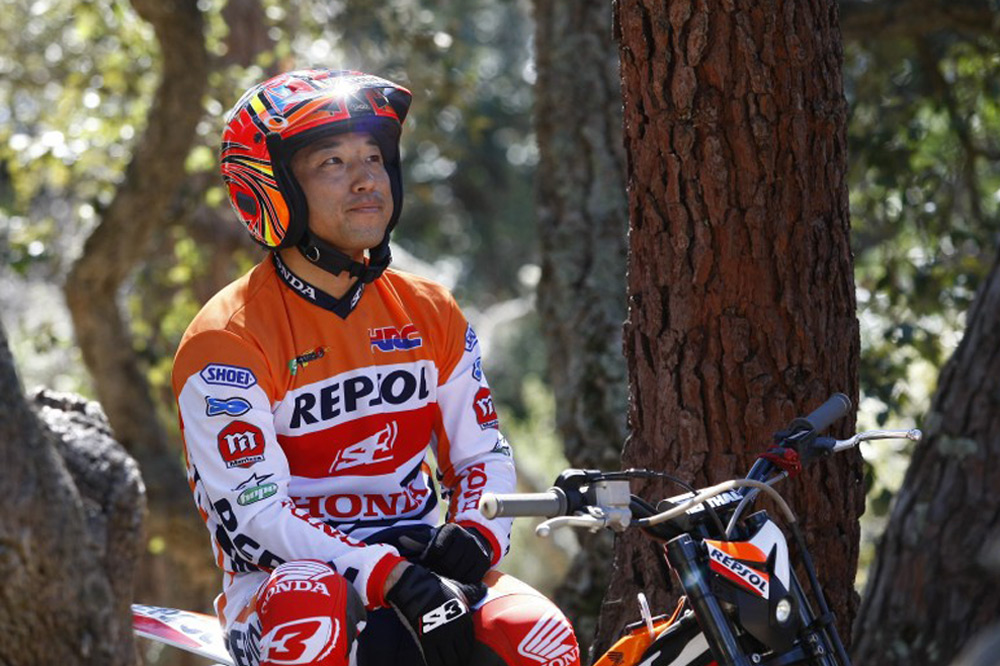 20 años de Takahisa Fujinami en el Mundial de Trial
