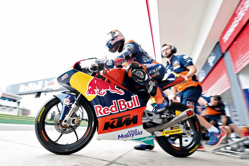 KTM trabaja en nuevo chasis