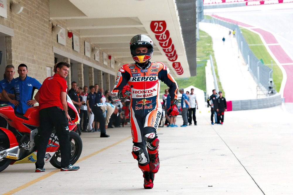 El misterio de las paradas de la Honda de Márquez y las Ducati en Texas