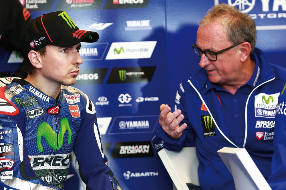 La continuidad de Lorenzo con Yamaha en duda
