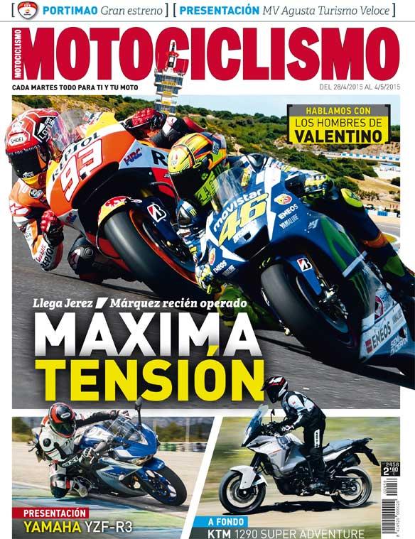 Motociclismo 2458: Contenidos de la revista