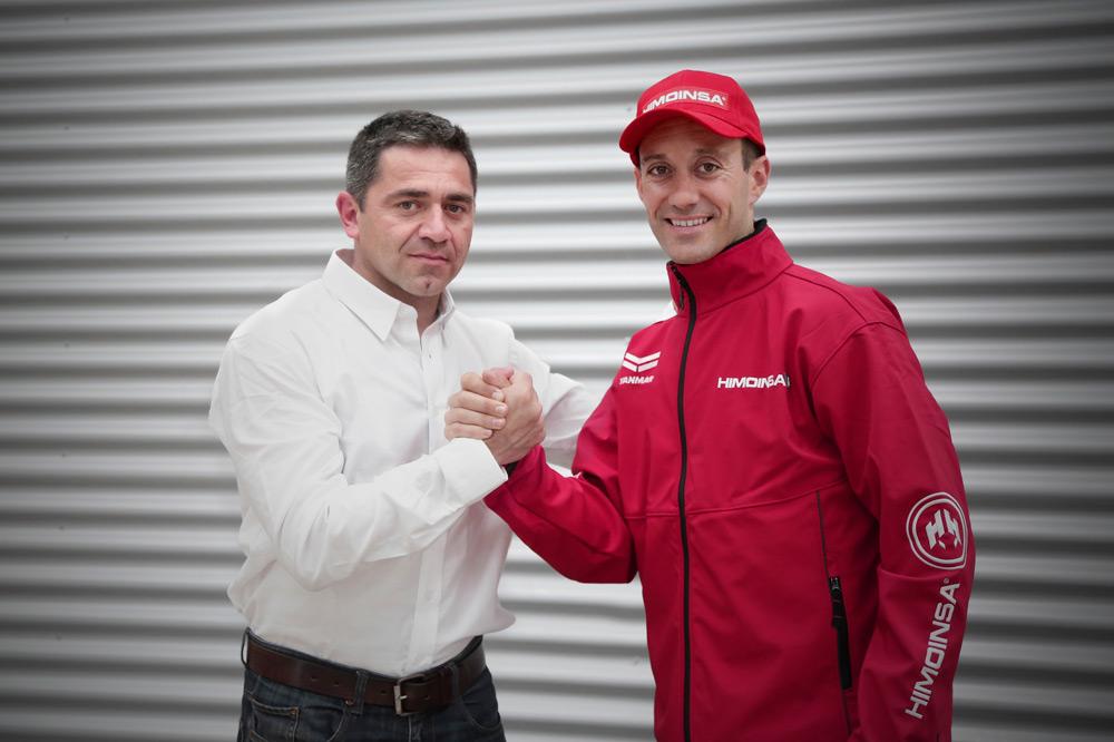 Gerard Farrés nuevo piloto del Himoinsa Racing
