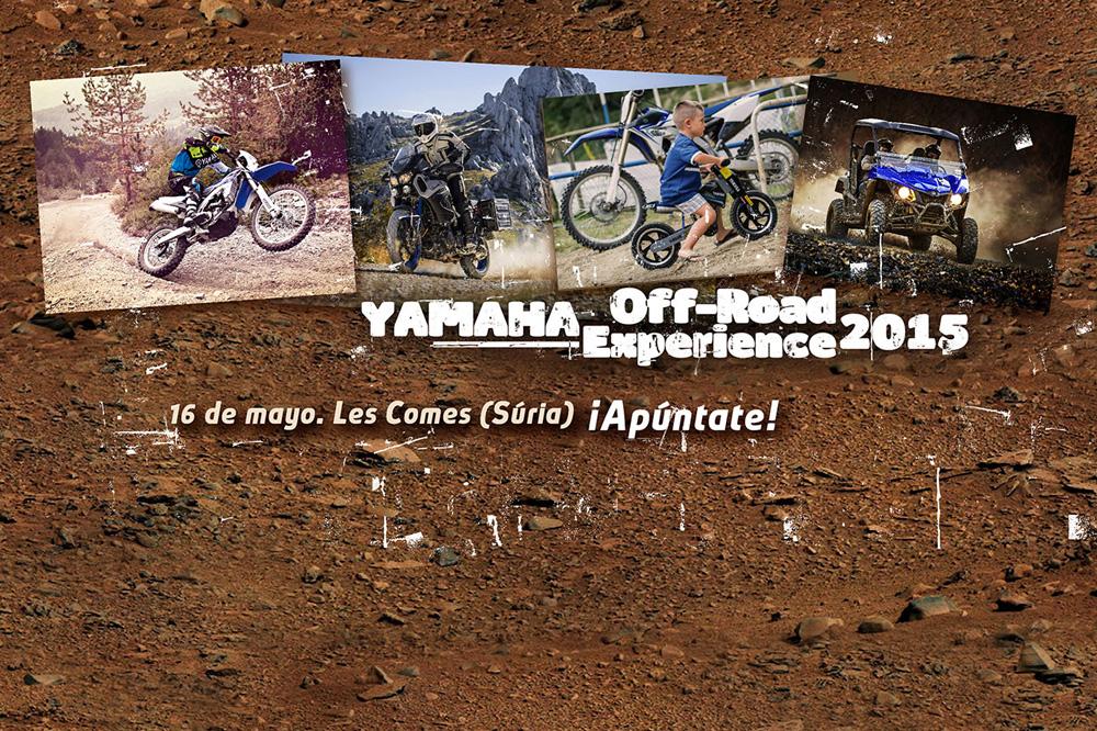 Primera edición del Yamaha Off-Road Experience