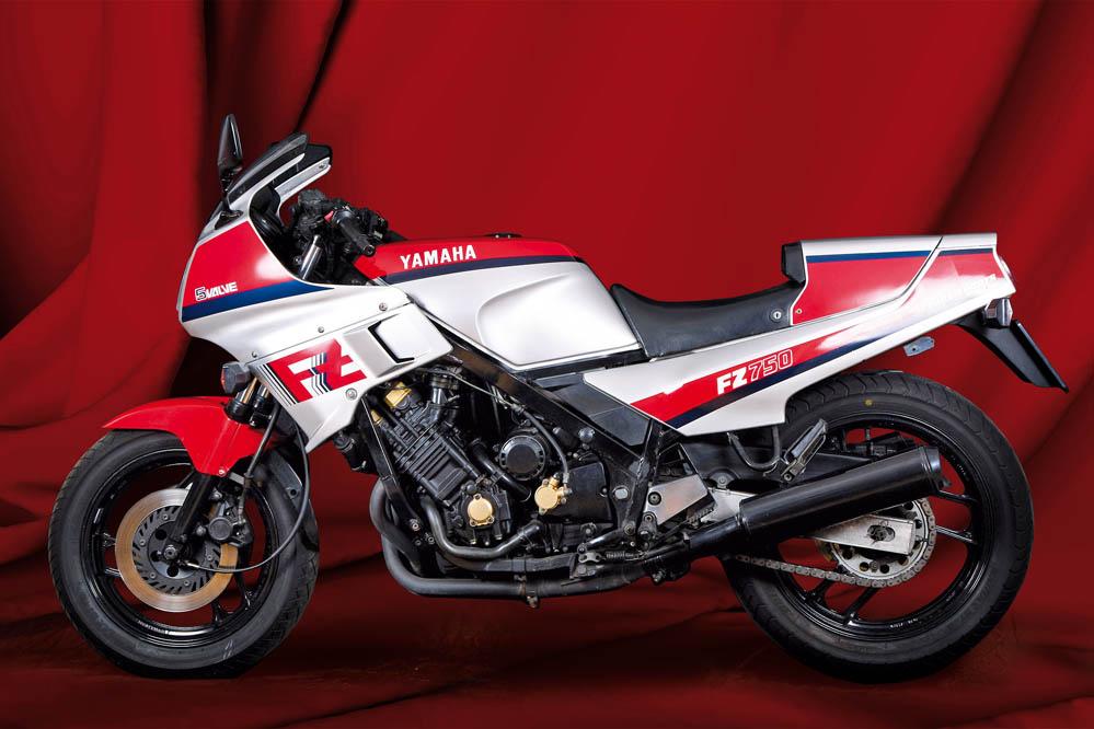 Moto clásica: Yamaha FZ750