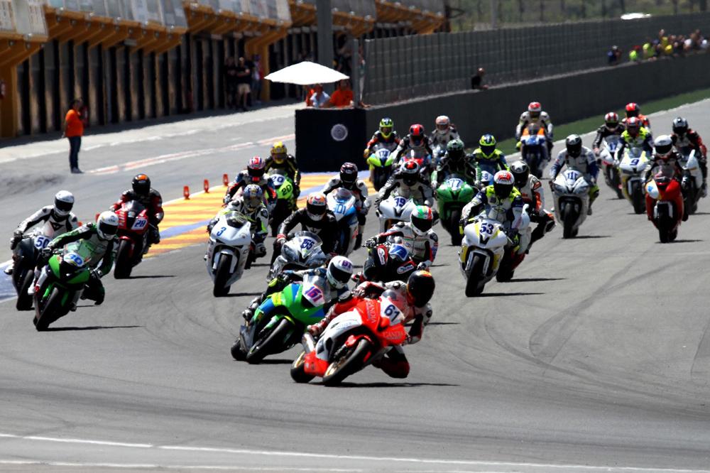 Primera prueba de la Copa MotoDes Velocidad en Valencia