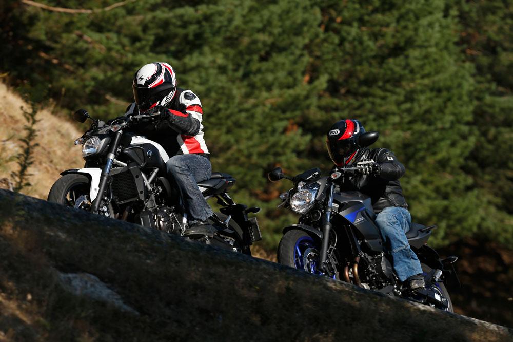Vídeo comparativa: Yamaha MT-07 vs Yamaha XJ6