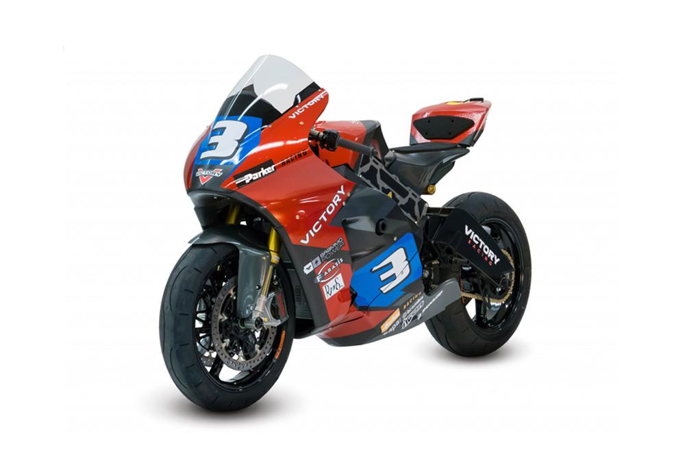 Victory ya tiene lista su moto eléctrica para correr en la Isla de Man