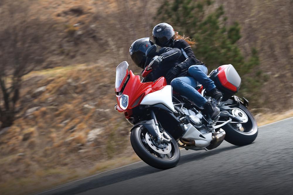 Prueba la nueva MV Agusta Turismo Veloce
