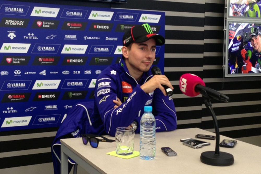 Jorge Lorenzo: A los campeones como Pedrosa no se les olvida ir en moto
