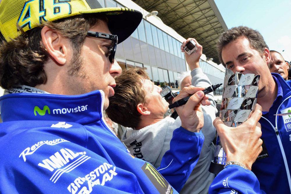 Valentino Rossi: Para ser un viernes, no está tan mal porque tenemos gran potencial