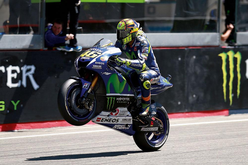 Valentino Rossi: Cuando Jorge pone el martillo no hay quien le gane