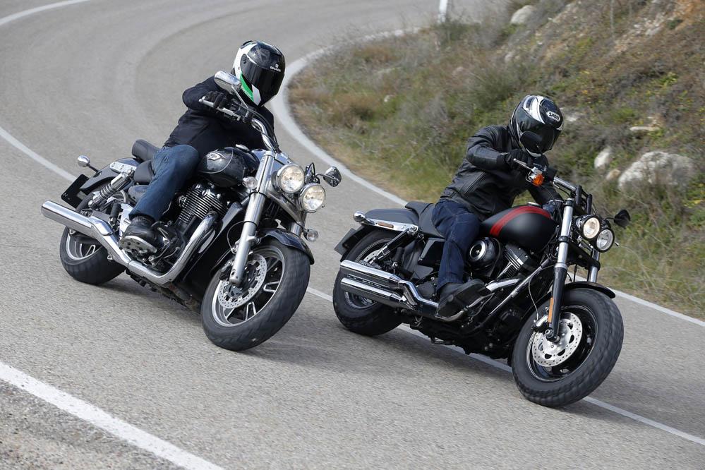 Comparativa Custom: Harley Davidson FXDF Fat Bob y Triumph Thunderbird Commander