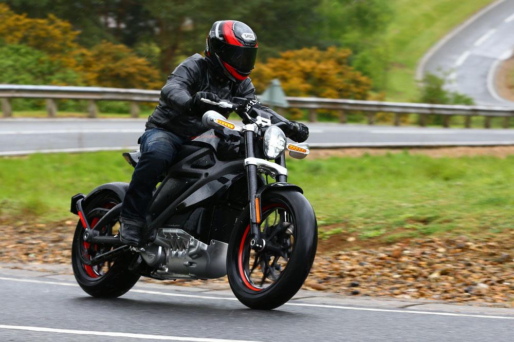 Probamos la Harley-Davidson Livewire eléctrica