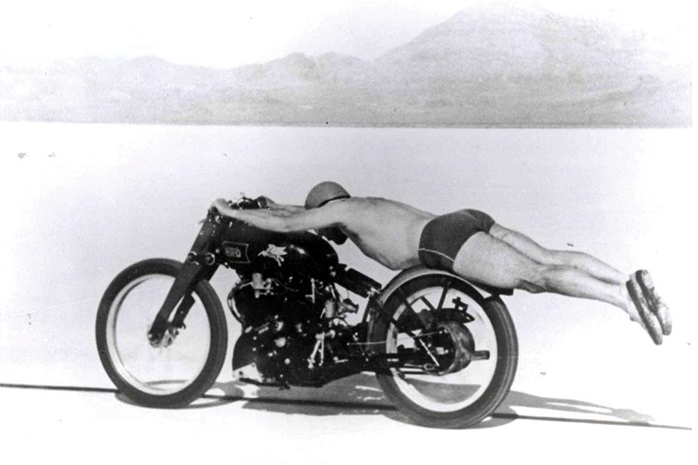 Los cazadores de récords de velocidad en moto
