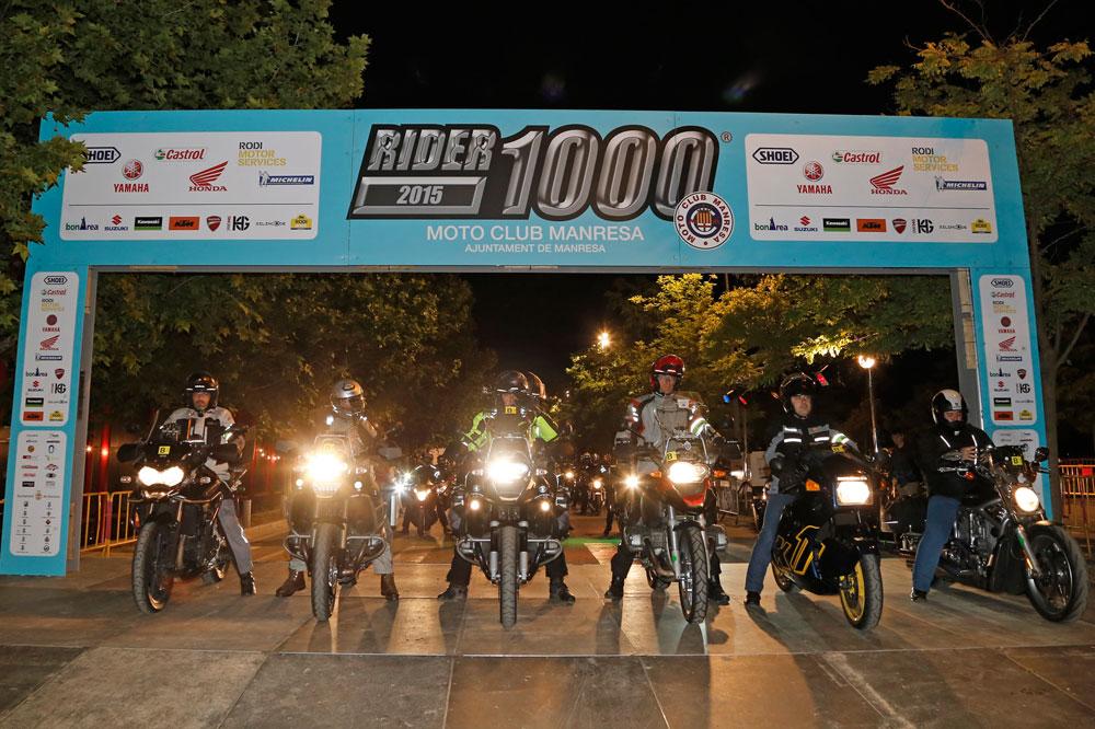 Mil doscientas motos en la Rider 1000