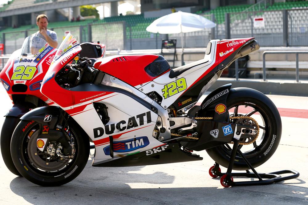 La variedad de Ducati en Le Mans