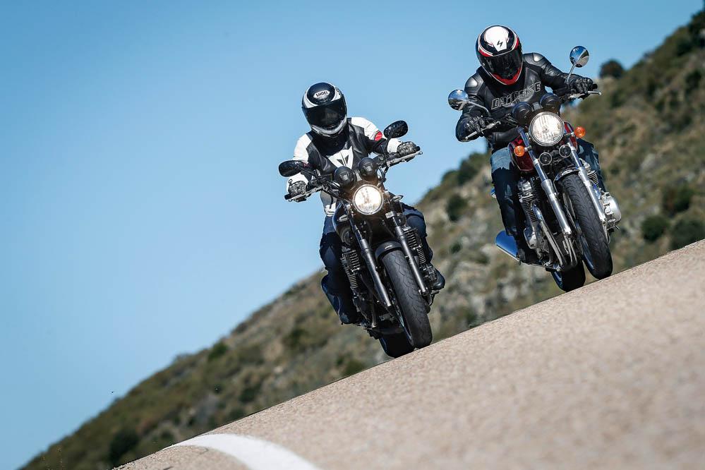Comparativa Honda CB1100EX-Yamaha XJR1300