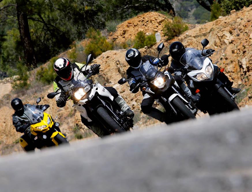 Comparativa Trail: BMW F 700 GS, Honda NC750X DCT, Kawasaki Versys 650 Tourer Plus y Suzuki V-Strom 650XT