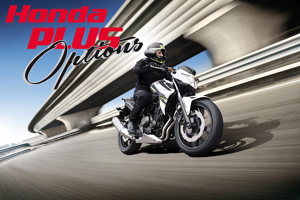 Promoción Honda: Honda Plus