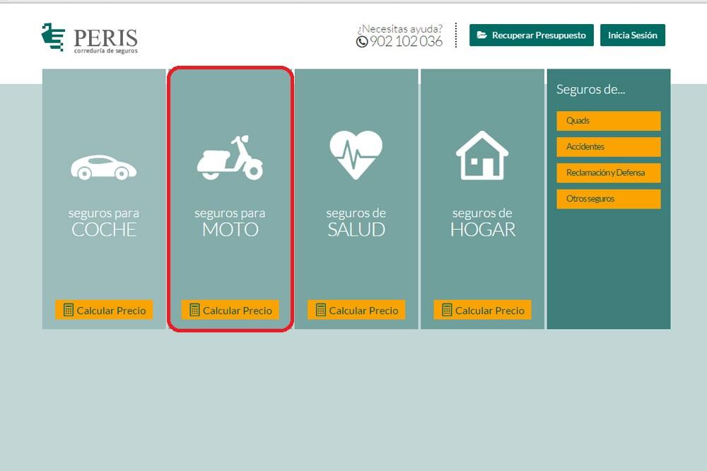 ¿Por qué elegir Peris al contratar el seguro para tu moto?