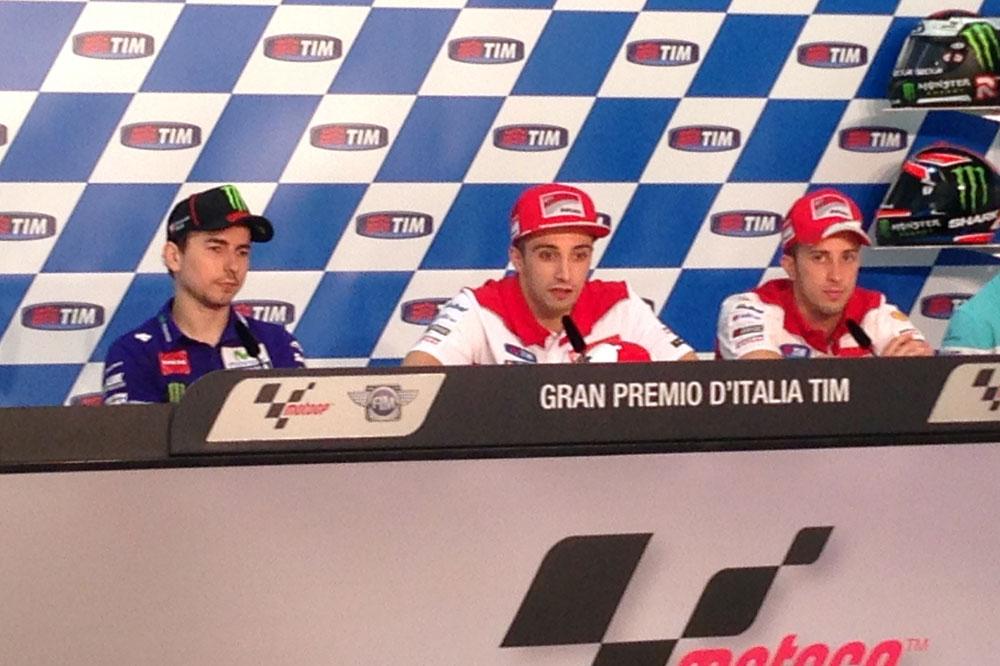 Jorge Lorenzo: No esperaba que Iannone bajase mi tiempo, pero con el extra blando y chupando rueda...