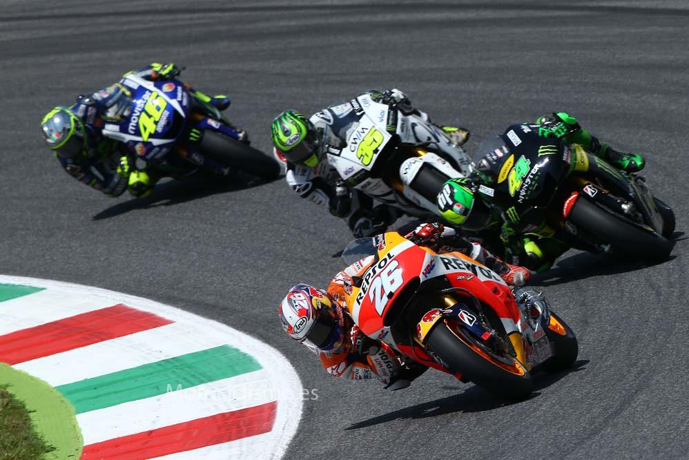 Dani Pedrosa: O Iannone hace la salida perfecta o se la ha saltado