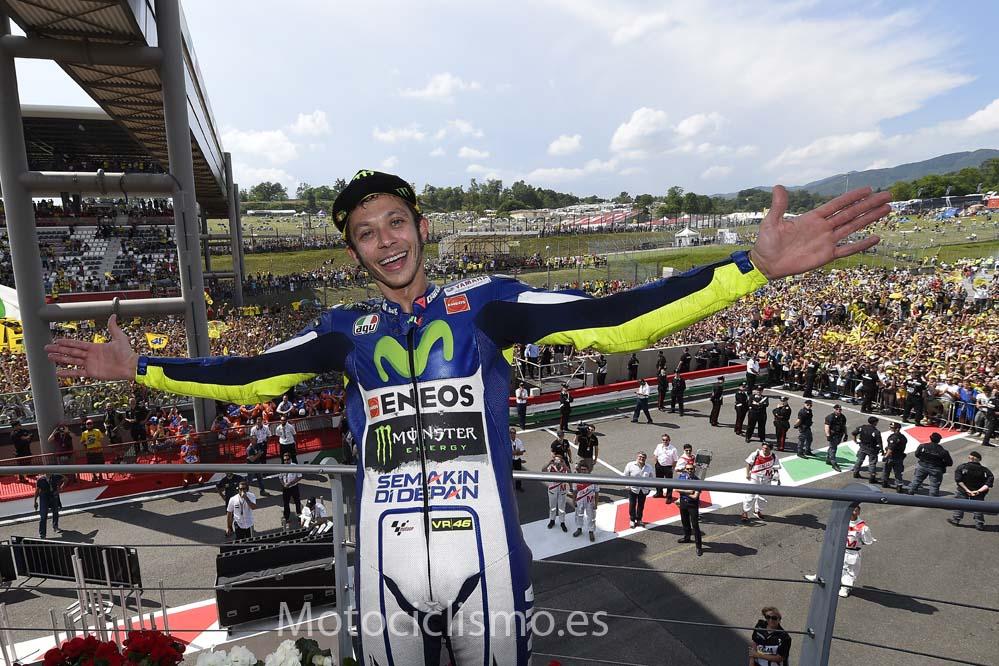 Rossi: Lograr el podio en Mugello siempre es bueno