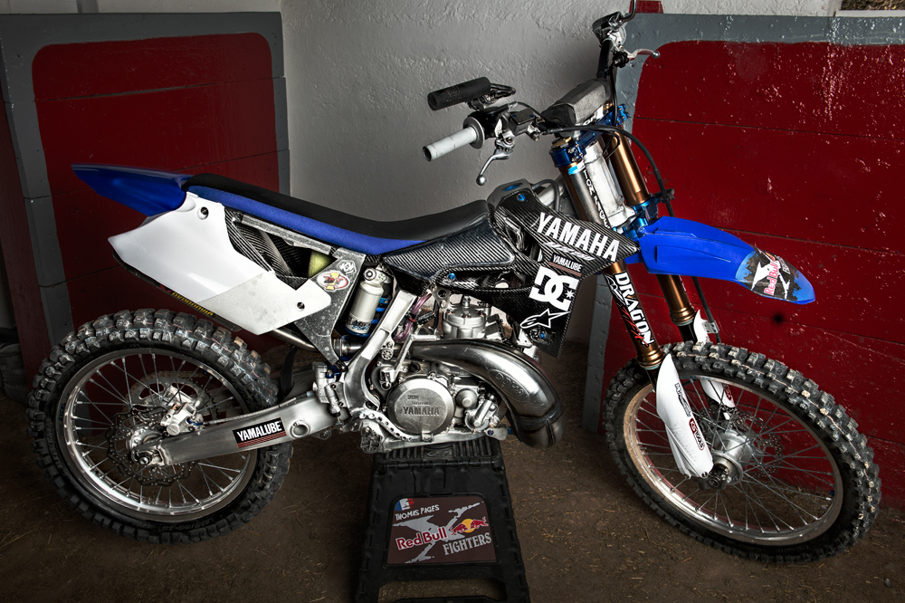 La Yamaha YZ 250 de Tom Pages